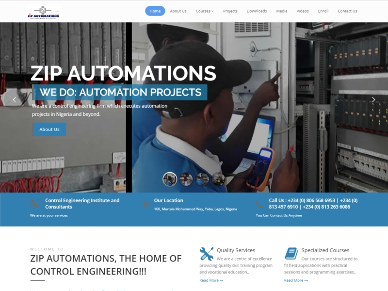 Visit ZipAutomations website at https://www.zipautomations.com/ powered by Dijittech Concept